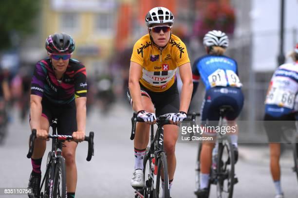 3rd Ladies Tour Of Norway 2017 / Stage 1 Ellen VAN DIJK Yellow leaders jersey/ Halden Mysen / Women / TON /