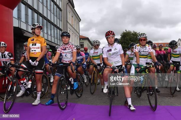 3rd Ladies Tour Of Norway 2017 / Stage 1 Ellen VAN DIJK Yellow leaders jersey/ Thea THORSEN / Lisa KLEIN White young rider jersey/ Katrin GARFOOT...