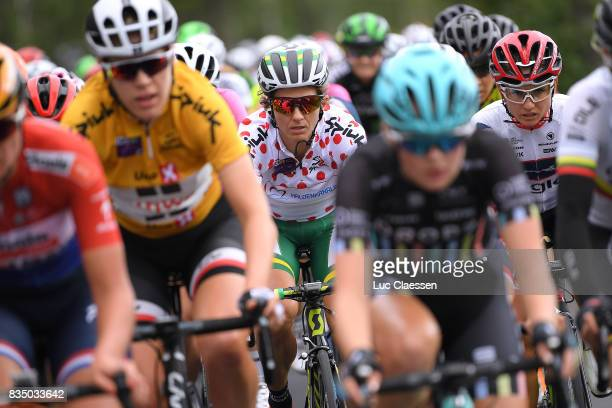 3rd Ladies Tour Of Norway 2017 / Stage 1 Katrin GARFOOT Polka dot Mountain Jersey / Ellen VAN DIJK Yellow Leader Jersey / Halden Mysen / Women / TON /