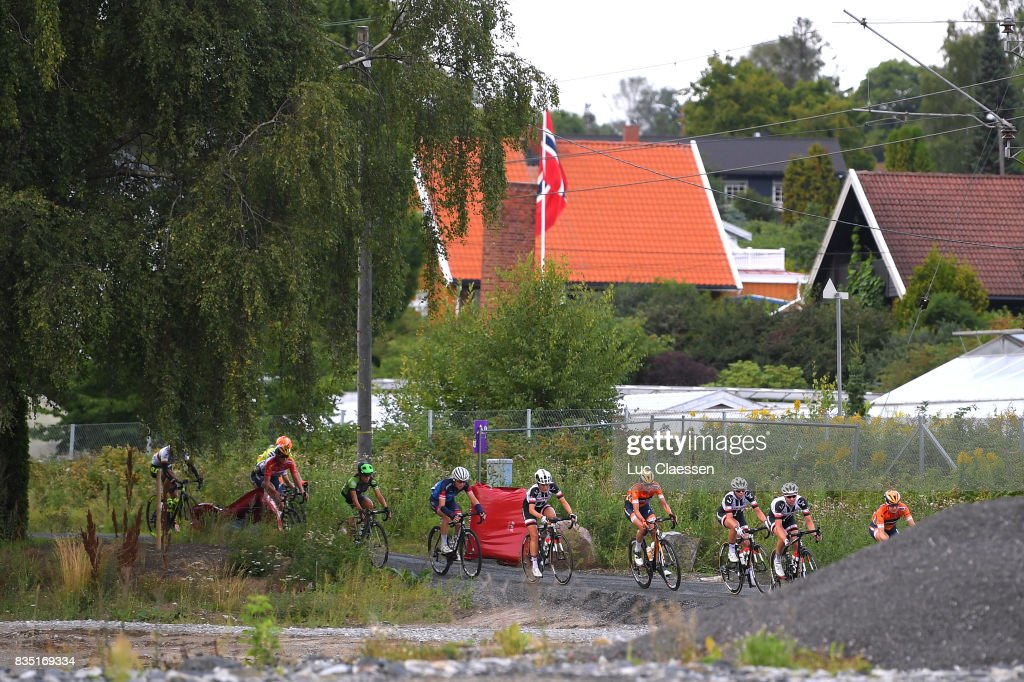 3rd Ladies Tour Of Norway 2017 / Stage 1 Landscape / Peloton / Gravelroad/ Halden - Mysen (105km) / Women / TON /