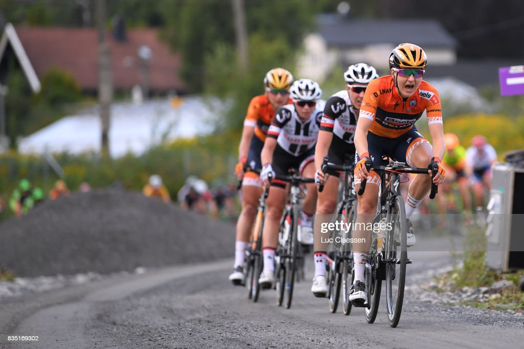 3rd Ladies Tour Of Norway 2017 / Stage 1 Megan GUARNIER (USA) / Gravelroad/ Halden - Mysen (105km) / Women / TON /