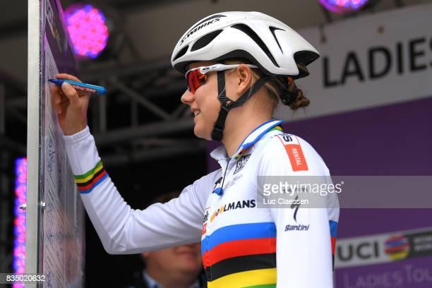3rd Ladies Tour Of Norway 2017 / Stage 1 Start / Amalie DIDERIKSEN / Halden Mysen / Women / TON /