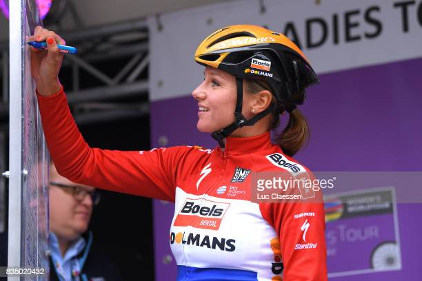 3rd Ladies Tour Of Norway 2017 / Stage 1 Start / Chantal BLAAK / Halden Mysen / Women / TON /