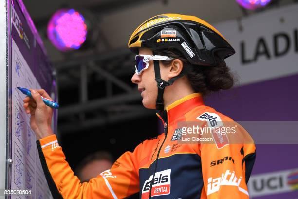 3rd Ladies Tour Of Norway 2017 / Stage 1 Start / Christine MAJERUS / Halden Mysen / Women / TON /