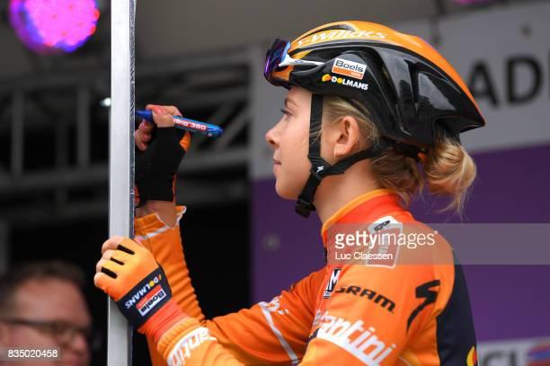 3rd Ladies Tour Of Norway 2017 / Stage 1 Start / Jip VAN DEN BOS / Halden Mysen / Women / TON /