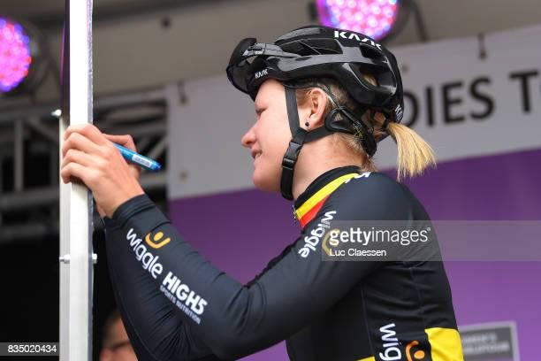 3rd Ladies Tour Of Norway 2017 / Stage 1 Start / Jolien DHOORE / Halden Mysen / Women / TON /