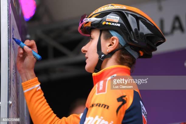 3rd Ladies Tour Of Norway 2017 / Stage 1 Start / Katarzyna PAWLOWSKA / Halden Mysen / Women / TON /
