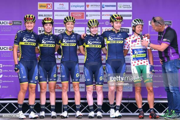3rd Ladies Tour Of Norway 2017 / Stage 1 Start / Podium / Georgia WILLIAMS /Jenelle CROOKS / Rachel NEYLAN / Gracie ELVIN / Alexandra MANLY / Katrin...
