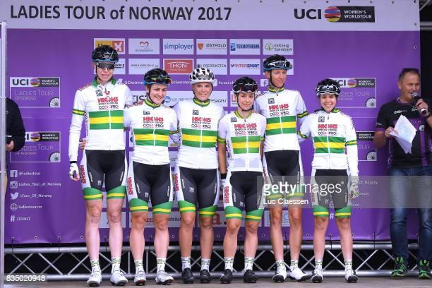 3rd Ladies Tour Of Norway 2017 / Stage 1 Start / Podium / Lucy KENNEDY / Lisen HOCKINGS / Shannon MALSEED / Grace BROWN / Jessica PRATT / Louisa...