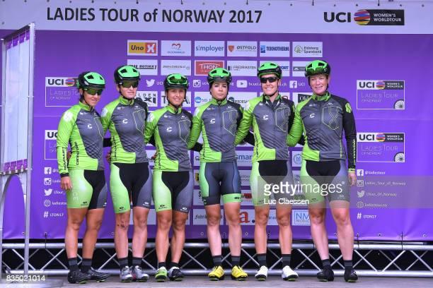3rd Ladies Tour Of Norway 2017 / Stage 1 Start / Podium / Marta TAGLIAFERRO / Malgorzata JASINSKA / Rossella RATTO / Sheyla GUTIERREZ / Danielle KING...