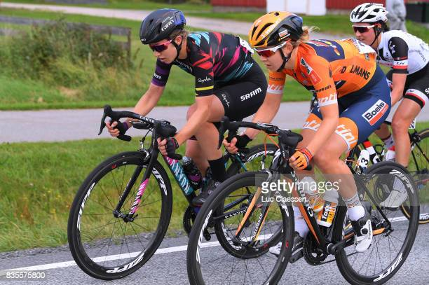 3rd Ladies Tour Of Norway 2017 / Stage 2/ Alexis RYAN / Jip VAN DEN BOS / Sarpsborg Fredrikstad / Women / TON /