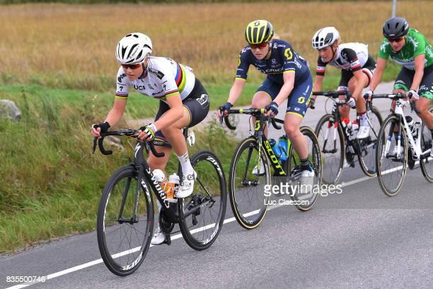 3rd Ladies Tour Of Norway 2017 / Stage 2 Amalie DIDERIKSEN / Gracie ELVIN / Floortje MACKAIJ / Marianne VOS Green points jersey / Sarpsborg...