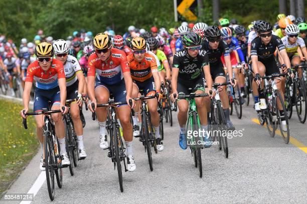 3rd Ladies Tour Of Norway 2017 / Stage 2 Christine MAJERUS / Amalie DIDERIKSEN / Chantal BLAAK / Megan GUARNIER / Katarzyna NIEWIADOMA / Peloton /...