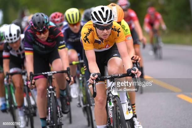 3rd Ladies Tour Of Norway 2017 / Stage 2 Jolien DHOORE Yellow Leader Jersey / Peloton / Sarpsborg Fredrikstad / Women / TON /