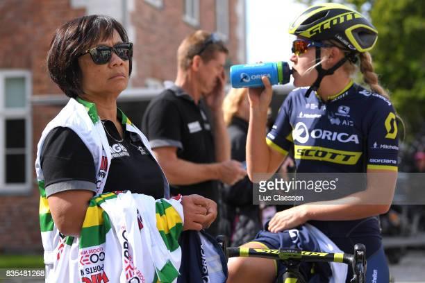 3rd Ladies Tour Of Norway 2017 / Stage 2 Start / Staff / Team Australia /Georgia WILLIAMS / Feeding / Sarpsborg Fredrikstad / Women / TON /