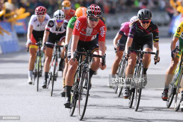 3rd Ladies Tour Of Norway 2017 / Stage 3 Arrival / Lotte KOPECKY / Svinesund Halden / Women / TON /