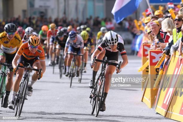3rd Ladies Tour Of Norway 2017 / Stage 3 Arrival / Marianne VOS / Megan GUARNIER / Ellen VAN DIJK / Svinesund Halden / Women / TON /