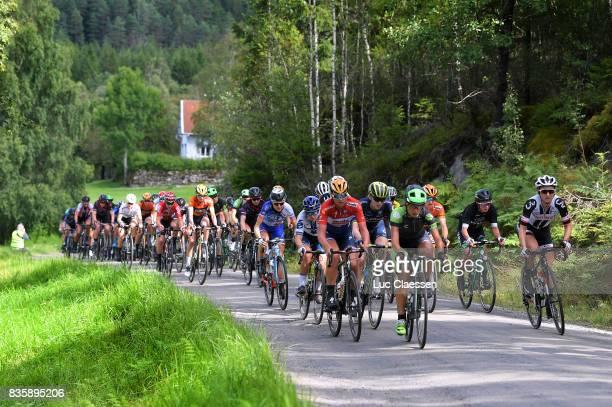 3rd Ladies Tour Of Norway 2017 / Stage 3 Chantal BLAAK / Gracie ELVIN / Leah KIRCHMANN / Svinesund Halden / Women / TON /