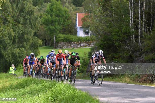 3rd Ladies Tour Of Norway 2017 / Stage 3 Chantal BLAAK / Gravelroad/ Peloton / Svinesund Halden / Women / TON /