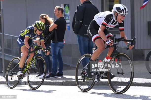 3rd Ladies Tour Of Norway 2017 / Stage 3 Ellen VAN DIJK / Rachel NEYLAN / Svinesund Halden / Women / TON /