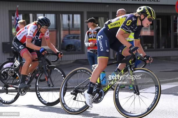 3rd Ladies Tour Of Norway 2017 / Stage 3 Jenelle CROOKS / Vita HEINE / Svinesund Halden / Women / TON /