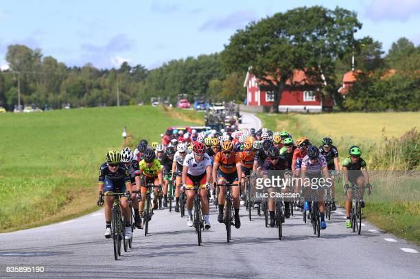 3rd Ladies Tour Of Norway 2017 / Stage 3 Landscape / Georgia WILLIAMS / Lisa KLEIN White youn rider jersey/ Jip VAN DEN BOS / Alexis RYAN / Svinesund...
