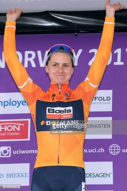3rd Ladies Tour Of Norway 2017 / Stage 3 Megan GUARNIER Celebration / Svinesund Halden / Women / TON /
