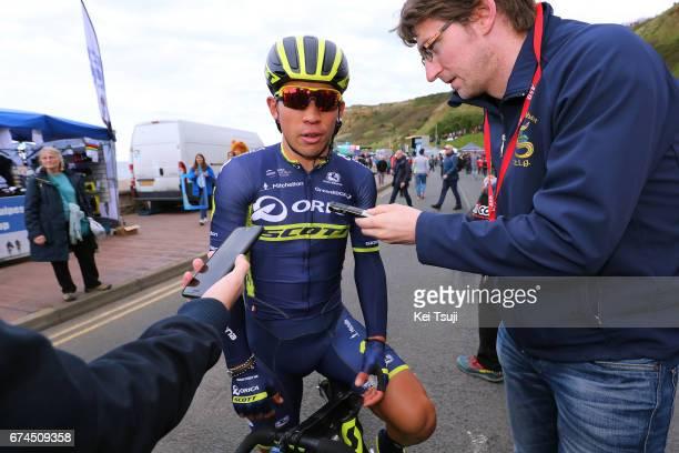 3rd Tour of Yorkshire 2017 / Stage 1 Arrival / Caleb EWAN / Interview / Bridlington Scarborough / Tour de Yorkshire /