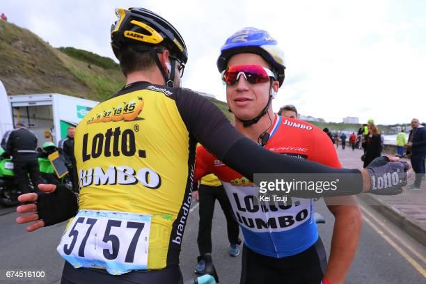 3rd Tour of Yorkshire 2017 / Stage 1 Arrival / Dylan GROENEWEGEN / Tom LEEZER / Celebration / Bridlington Scarborough / Tour de Yorkshire /