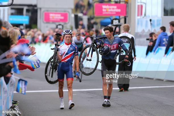3rd Tour of Yorkshire 2017 / Stage 1 Arrival / Ian BIBBY / James KNOX / Bridlington Scarborough / Tour de Yorkshire /