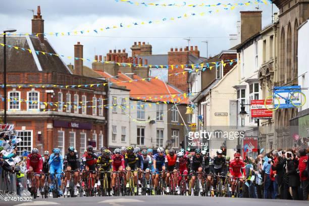 3rd Tour of Yorkshire 2017 / Stage 1 Peloton / Driffield / Bridlington Scarborough / Tour de Yorkshire /
