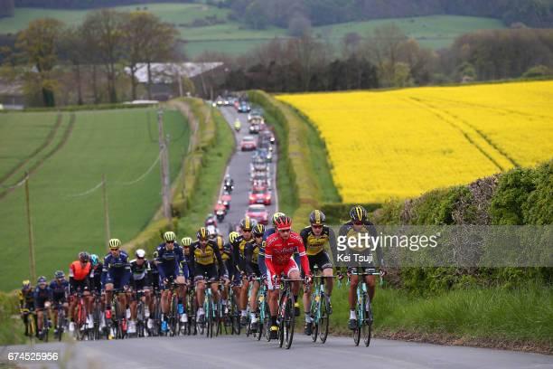 3rd Tour of Yorkshire 2017 / Stage 1 Peloton / Landscape / Bridlington Scarborough / Tour de Yorkshire /