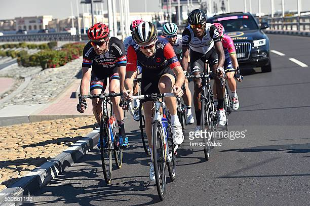 3th Dubai Tour 2016 / Stage 4 CHRISTIAN Mark / TEKLEHAIMANOT Daniel / CURVERS Roy / COSTA Rui / LANDER Sebastian / POLANC Jan / Dubai Dubai /...