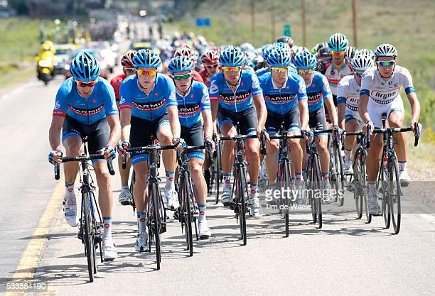 3yh USA Pro Cycling Challenge 2013/ Stage 3 Ilustration Ilustratie/ Peloton Peleton/ Tean Garmin/ BreckenridgeSteamboat Spring / Tour of Colorado...