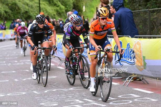 4th Amstel Gold Race 2017 / Women Lizzie Elizabeth ARMITSTEADDEIGNAN / Pauline FERRAND PREVOT / Elisa LONGO BORGHINI / Maastricht Valkenburg / Women /