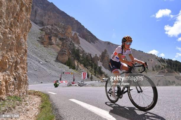 4th La Course 2017 by Le Tour de France / Stage 1 Lizzie Elizabeth ARMITSTEADDEIGNAN / Mountains / / Col d'Izoard / Briancon IzoardCol d'Izoard 2360m...