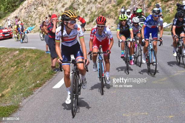 4th La Course 2017 by Le Tour de France / Stage 1 Lizzie Elizabeth ARMITSTEADDEIGNAN / Eri YONAMINE / Briancon IzoardCol d'Izoard 2360m / Women / La...