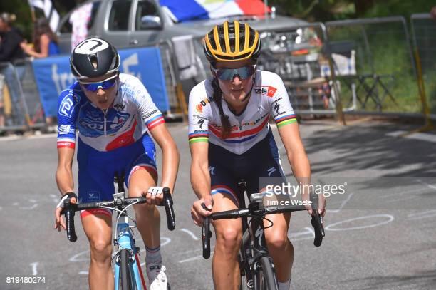 4th La Course 2017 by Le Tour de France / Stage 1 Lizzie Elizabeth ARMITSTEADDEIGNAN / Shara GILLOW / Briancon IzoardCol d'Izoard 2360m / Women / La...