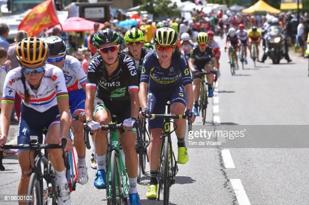 4th La Course 2017 by Le Tour de France / Stage 1 Lizzie Elizabeth ARMITSTEADDEIGNAN / Katarzyna NIEWIADOMA / Shara GILLOW / Annemiek VAN VLEUTEN /...
