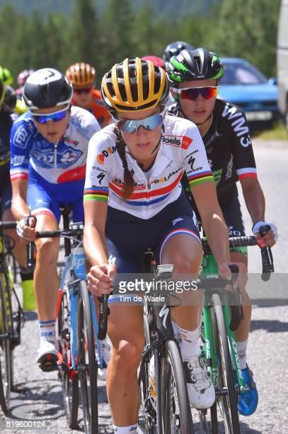4th La Course 2017 by Le Tour de France / Stage 1 Lizzie Elizabeth ARMITSTEADDEIGNAN / Katarzyna NIEWIADOMA / Briancon IzoardCol d'Izoard 2360m /...