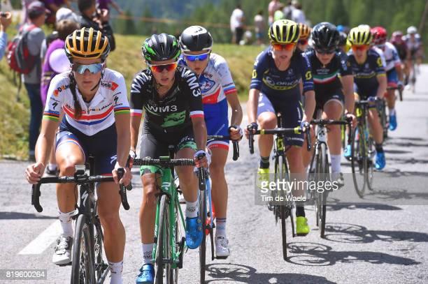 4th La Course 2017 by Le Tour de France / Stage 1 Lizzie Elizabeth ARMITSTEADDEIGNAN / Katarzyna NIEWIADOMA / Charlotte BRAVARD / Annemiek VAN...