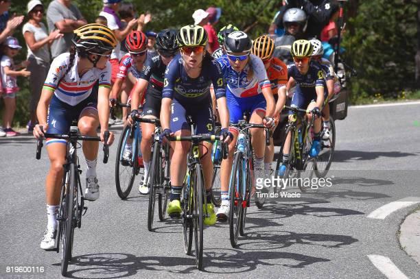 4th La Course 2017 by Le Tour de France / Stage 1 Lizzie Elizabeth ARMITSTEADDEIGNAN / Annemiek VAN VLEUTEN / Public / Fans / Briancon IzoardCol...
