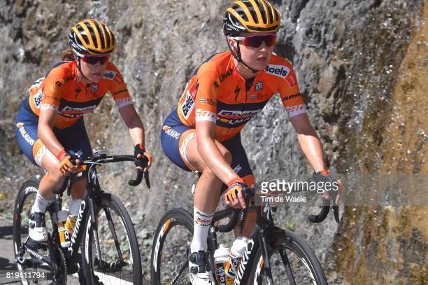 4th La Course 2017 by Le Tour de France / Stage 1 Megan GUARNIER / KarolAnn CANUEL / Briancon IzoardCol d'Izoard 2360m / Women / La Course by Le Tour...