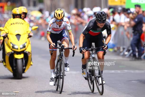 4th La Course 2017 by Le Tour de France / Stage 2 Arrival / Elisa LONGO BORGHINI / Lizzie Elizabeth ARMITSTEADDEIGNAN / Sprint / Marseille Marseille...