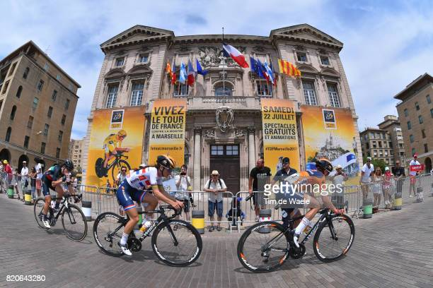 4th La Course 2017 by Le Tour de France / Stage 2 Megan GUARNIER / Lizzie Elizabeth ARMITSTEADDEIGNAN / Marseille Marseille / Women / ITT /...