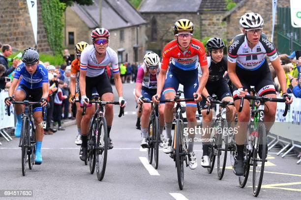 4th OVO Energy Women's Tour 2017 / Stage 4 Hannah BARNES / Anna VAN DER BREGGEN UCI Leaders Jersey / Christine MAJERUS / Audrey CORDON RAGOT / Ellen...