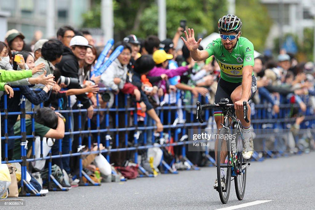 4th Tour de France Saitama Criterium 2016 Peter SAGAN (SVK) Green Sprint Jersey / Saitama - Saitama (57km) / Saitama Criterium / ©Tim De WaeleKT/Tim De Waele/Corbis via Getty Images)