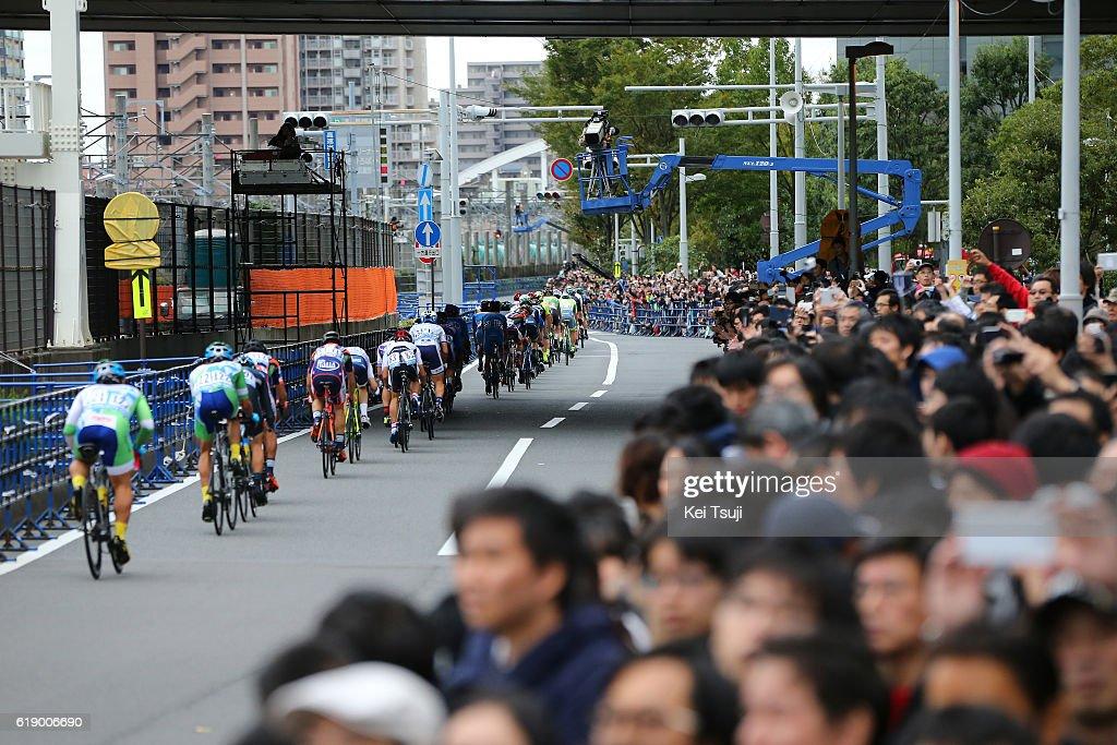 4th Tour de France Saitama Criterium 2016 City / Fans / Public / Peloton / Landscape / Saitama - Saitama (57km) / / TDF Saitama Criterium / ©Tim De WaeleKT/Tim De Waele/Corbis via Getty Images)