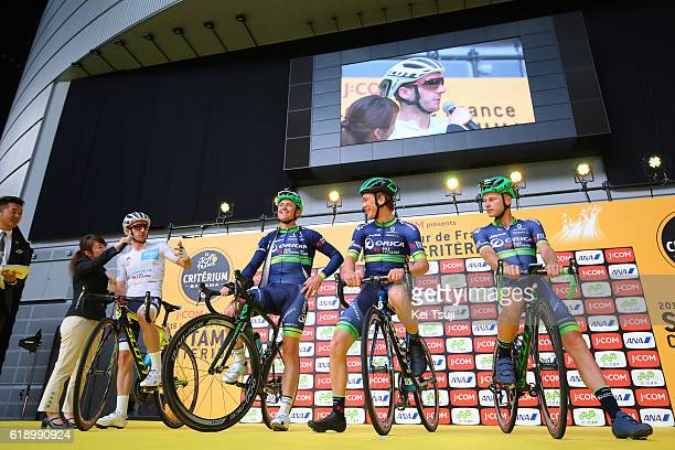4th Tour de France Saitama Criterium 2016 Start / Team ORICABIKE EXCHANGE / Adam YATES White Best Young Jersey / Simon GERRANS / Chris JuulJENSEN /...