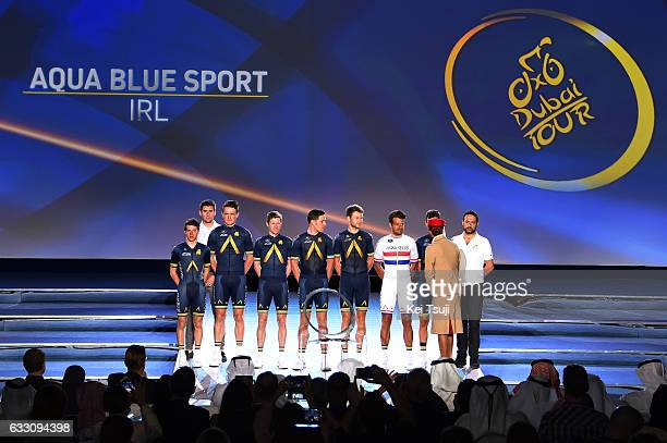 4th Tour Dubai 2017 / Teams Presentation Aqua Blue Sport / Matthew BRAMMEIER / Adam BLYTHE / Mark CHRISTIAN / Stefan DENIFL / Andrew FENN / Lars...